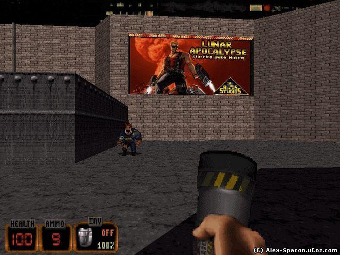 Duke Nukem 3D (Сайт Рыжакова Олега Ивановича)
