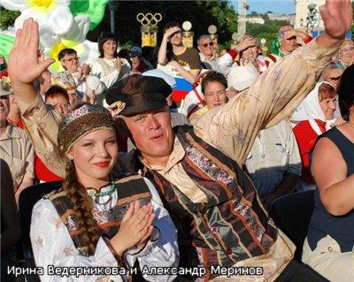 «Русский стлиль» — Ирина Ведерникова и Александр Меринов